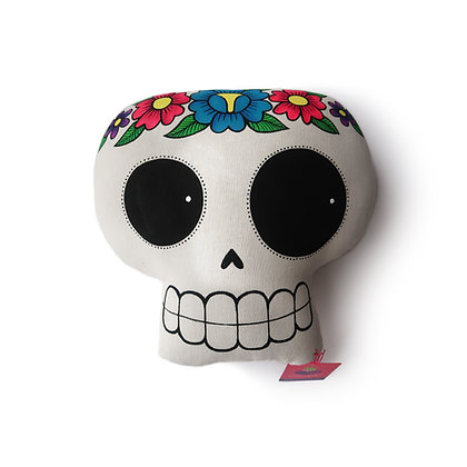 Calavera Pillow by Mayeb