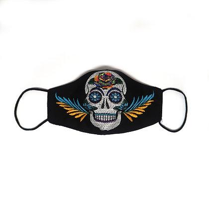 Adult Skull Face Mask - Black