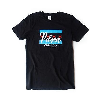 Chicago Flag - Pilsen T-Shirt