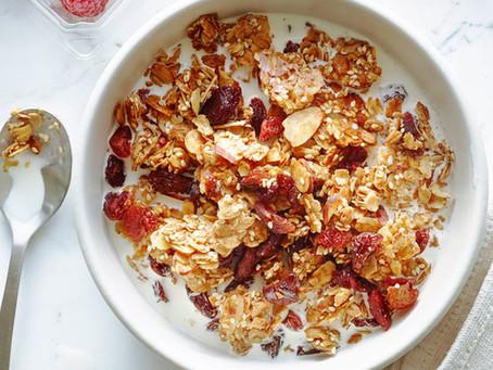 穀麥片有四種:Cereal、Granola、Muesli、Porridge 差在哪?