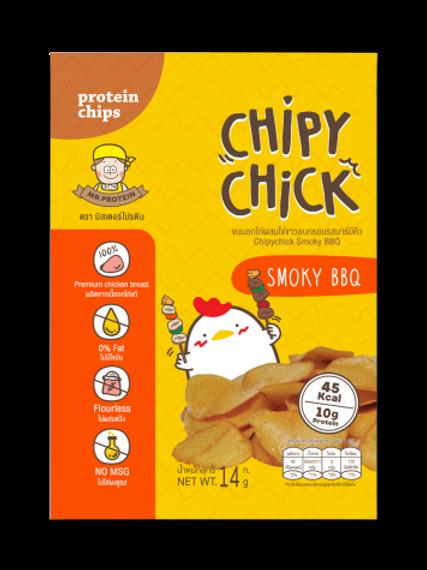 雞胸肉脆片- BBQ (14G) | Mr. Protein