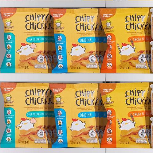 雞胸肉脆片Combo (9包裝)| Mr. Protein