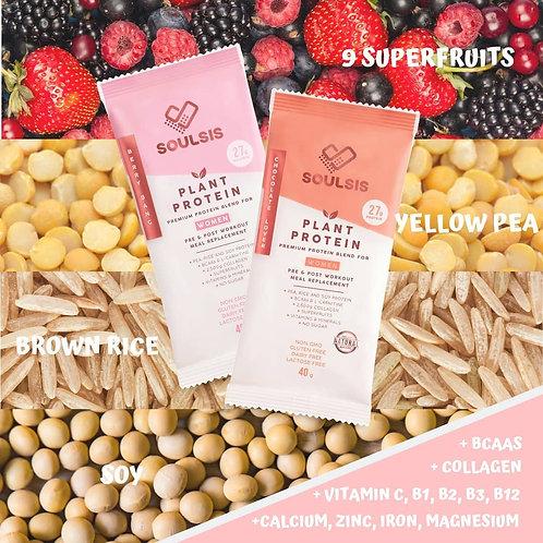 低脂植物高蛋白粉|Soulsis