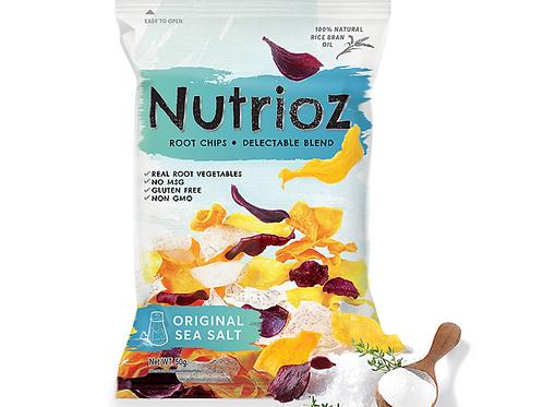 海鹽三色蔬菜片 (50g) | NUTRIOZ