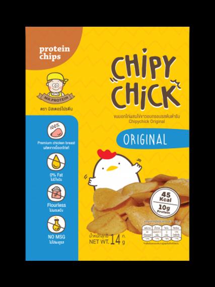 雞胸肉脆片- 原味 (25G)   Mr. Protein
