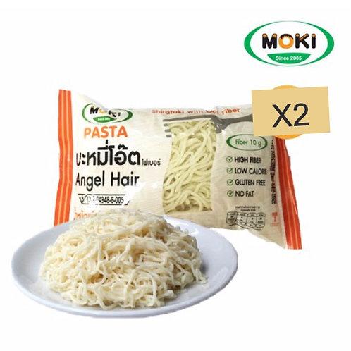 燕麥纖維蒟蒻天使麵(2包裝)  MOKI
