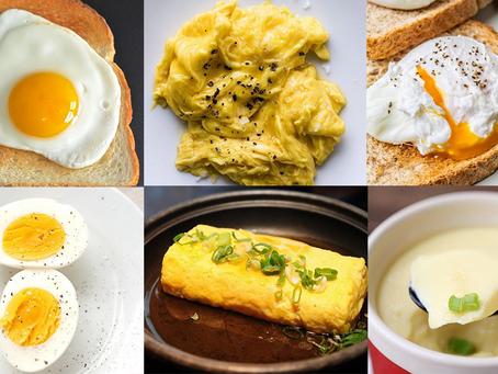 一般蛋和皮蛋、鹹蛋等加工蛋的營養價值又會不一樣嗎?