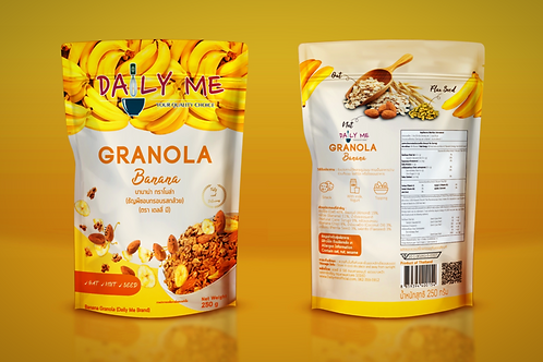 香蕉堅果穀麥片(250g) | Daily Me