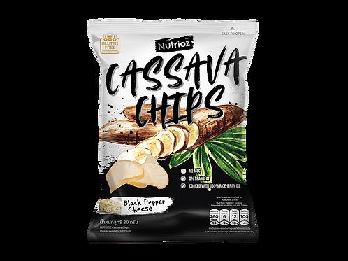 黑椒芝士香脆木薯片(78g) | NUTRIOZ