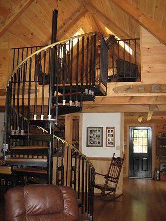 lake house inside stair.JPG