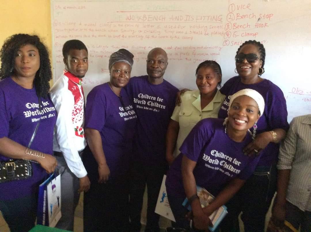 Children for World Children Volunteers