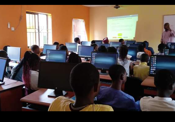 Computers Provided to Youth in Ojodu