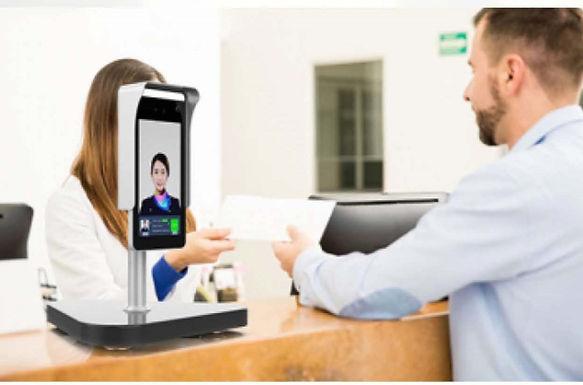 TSP AI顔認証体表温度測定装置TSP-LGT021 販売開始致します。