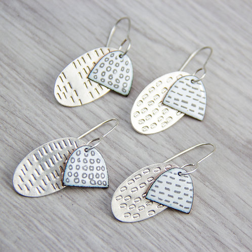 RBJE41 Layered Earrings