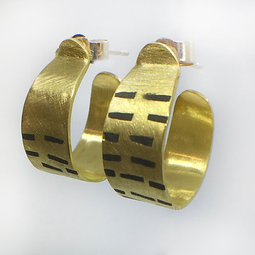RBJE59 Brass Hoops