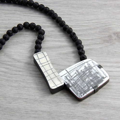 RBJP30 Asymmetrical Neckpiece