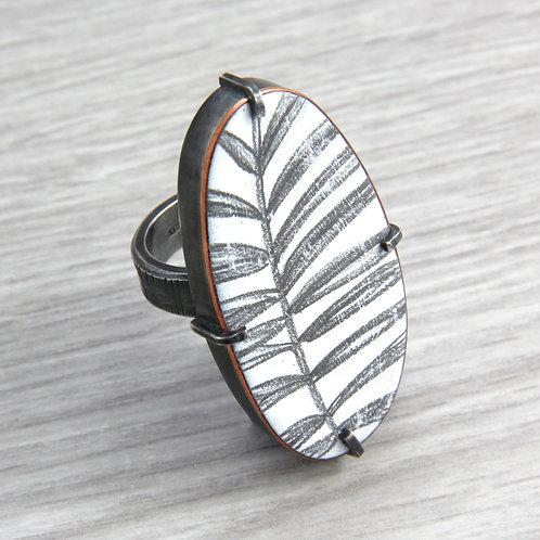 RBJR8 Leaf Ring