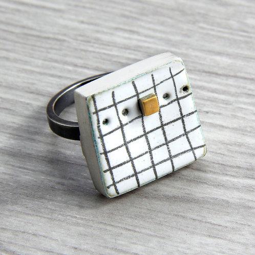 RBJR14 Square Box Ring
