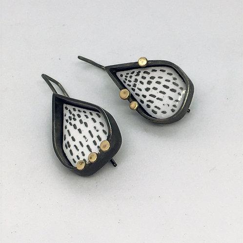 RBJE70 Gold Dot Earrings