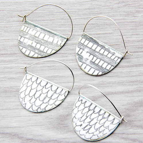 RBJE4 Hoop Earrings