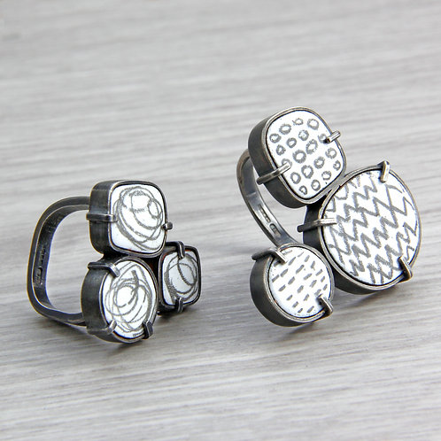 RBJR5 Triple and Double Box Rings