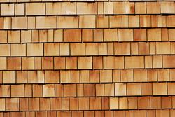 cedar shake wall cladding