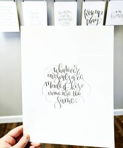 Had another chance to doodle today! #lovemyjob #LaurenScottStudio #handletteredart #handlettering #b