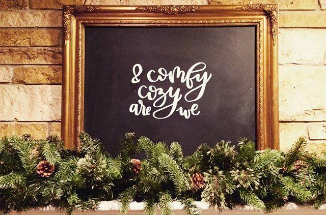 #christmaslettering #christmassign #lettering #handlettering #lettered #christmasmantel #christmasde
