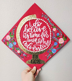 What a fun honor it is to create something so cute for such a special day! Congrats on your graduati