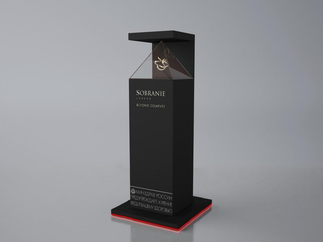 3D стелла с подиумом