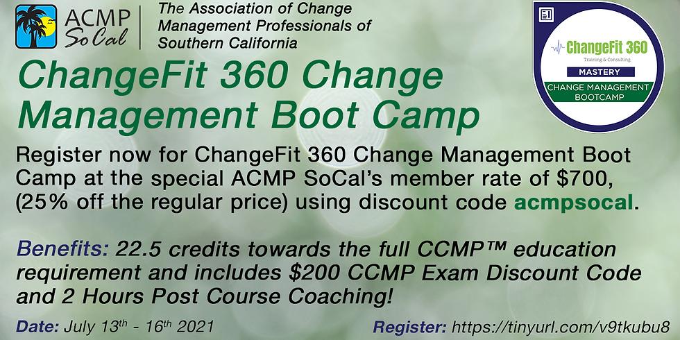 ChangeFit 360 Change Management Boot Camp