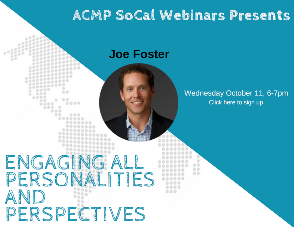 Webinar: The Four Keys of Engaging All Personalities and Perspectives