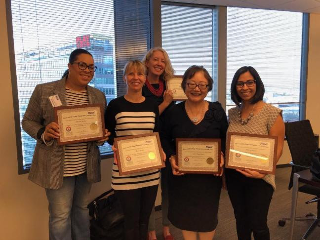 Congratulations newly Prosci-certified change management practitioners ACMP SoCal!
