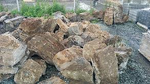 Cailloux viellis à rocaille