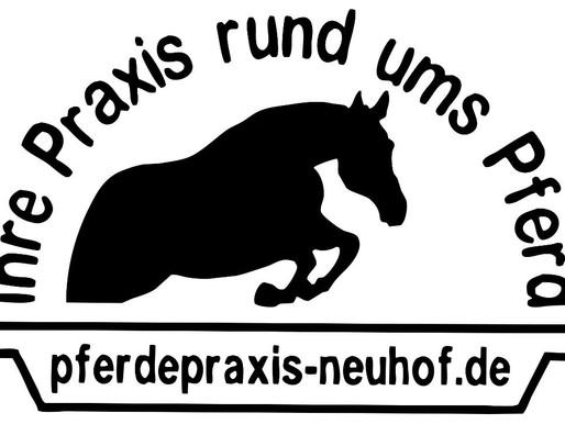 Ein weiterer Förderer des Zuchtbezirks: Pferdepraxis Neuhof .... Pferdeklinik, Pferdezucht und -aufz
