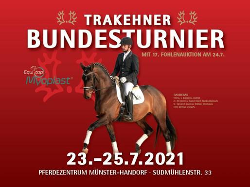 Zeiteinteilung Trakehner Bundesturnier
