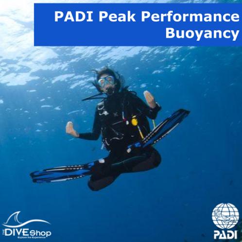 PADI Peak Performance Buoyancy