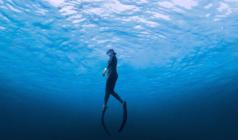 Freediving Practice Session
