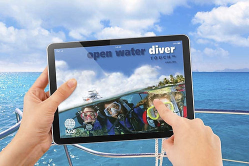 Open Water: Pool and Class Course - E-Learning Package (Including Pool Sessions)