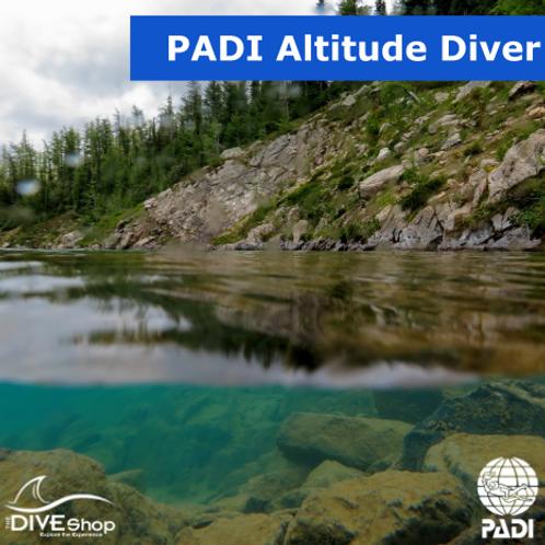 PADI Altitude Diver Course