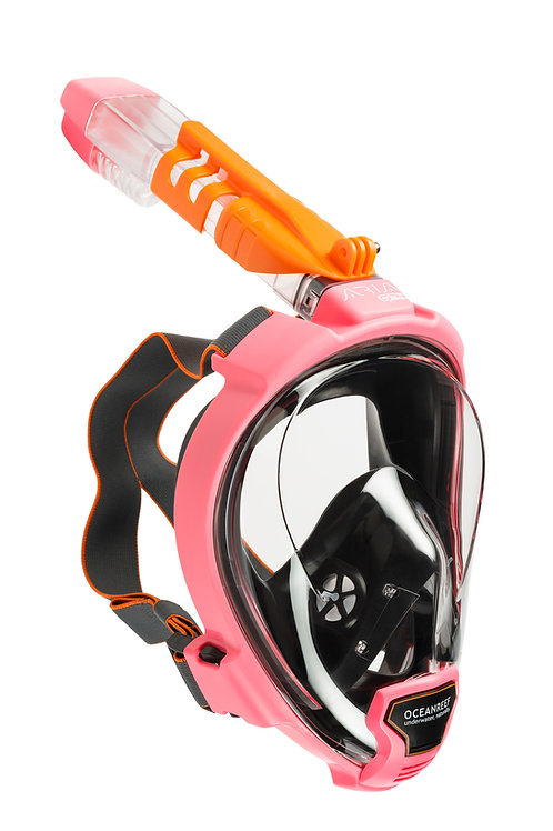 OceanReef Aria QR+ Full Face Snorkelling Mask with Camera Support