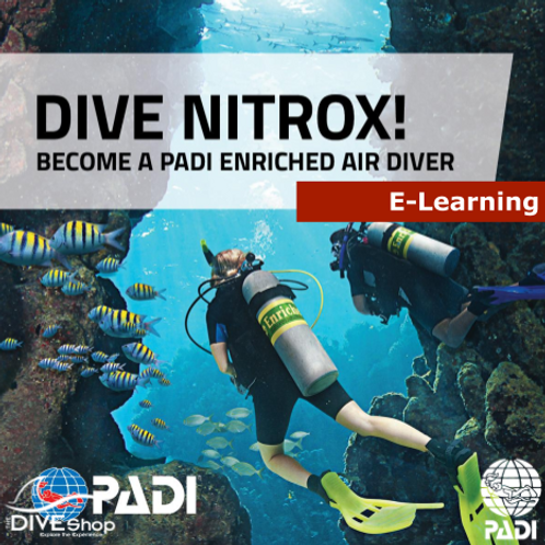 Enriched Air Nitrox Course - E-learning Package