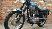 1965 Triumph Bonneville T120C Competition Sports