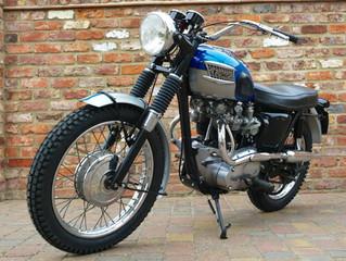 1965 Triumph Bonneville T120C Competition Sports