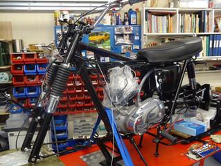 1966 T120C TT Desert Racer Restoration - Update 26th September