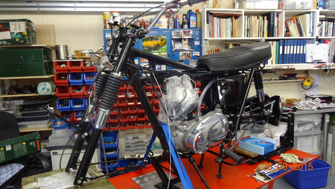 Triumph Bonneville T120 Specs >> 1966 T120C TT Desert Racer Restoration - Update 26th September