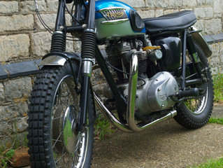 1965 T120C TT Special Restoration