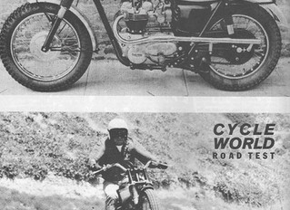 1965 Triumph TR6SC -At Home in the Desert - Cycle World review October 1965