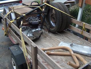 1966 T120C TT Desert Racer Restoration - Week 1