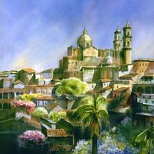 Dawn in Taxco